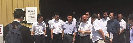 全国政协常委、经济委员会副主任陈锡文同志及省市领导前往吉林德赢体育app物流有限公司参观调研